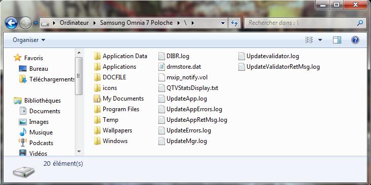 [INFO] Windows Mobile Device Center : Explorer votre Windows Phone directement depuis le PC 1-expl10
