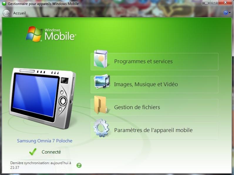 [INFO] Windows Mobile Device Center : Explorer votre Windows Phone directement depuis le PC 3-wmdc10