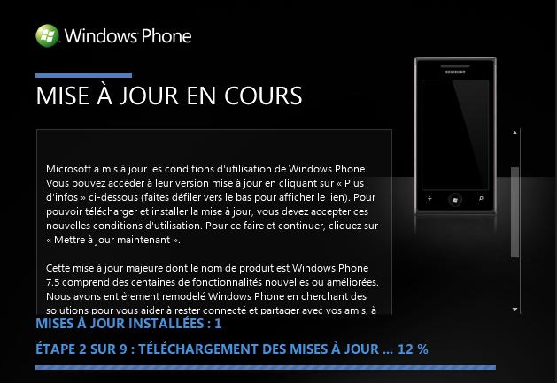 [INFO] WP7.5 Mango Unlocked disponible (HTC/SAMSUNG/LG) !  772010