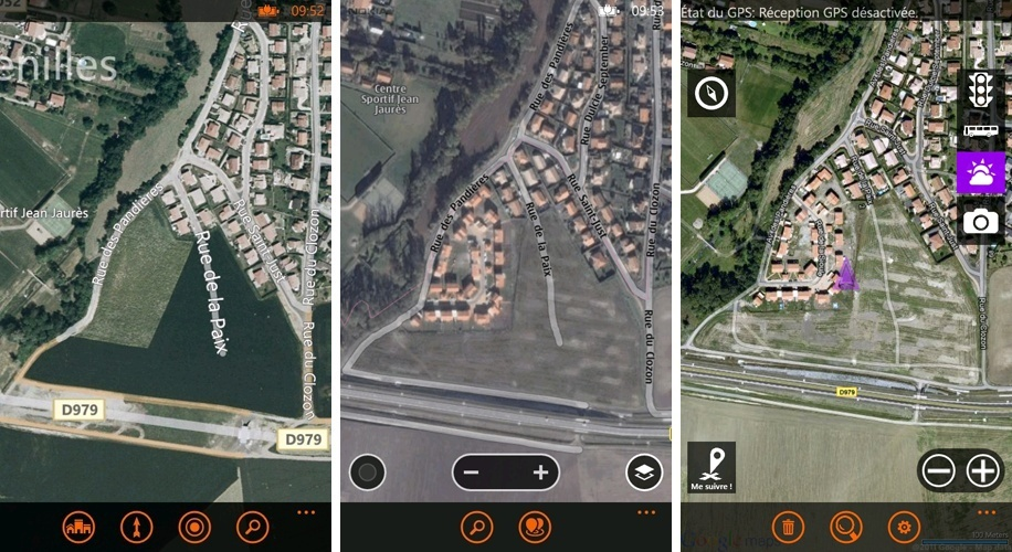 [INFO] Comparaisons Applications : Cartes, NokiaMaps & gMaps Pro Dateca11