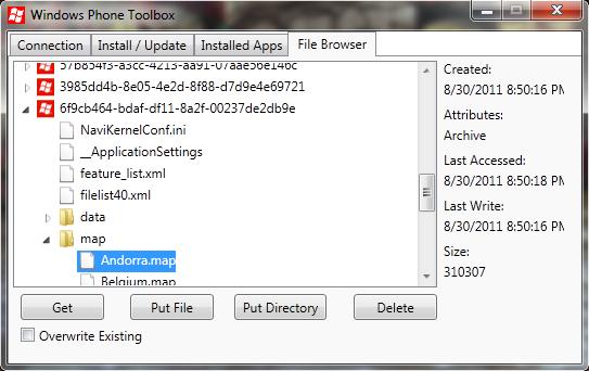 [INFO MANGO] Windows Phone Power Tools : Add-Ons WindowsPhone SDK 7.1 RC Isolat10
