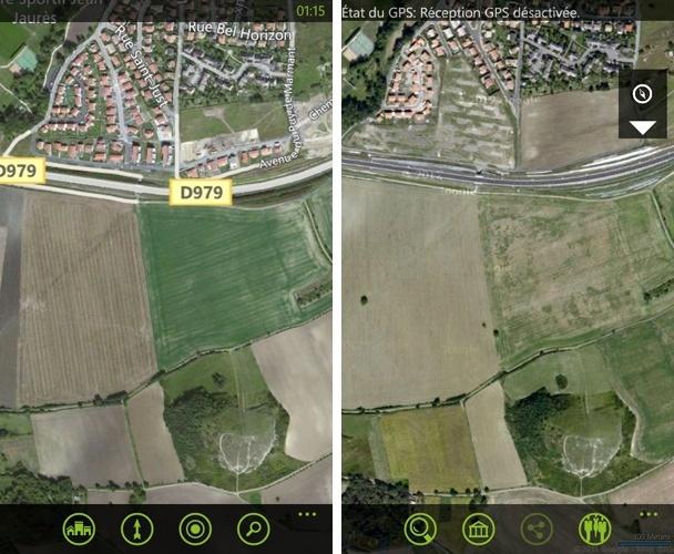 [INFO] Mise à jour des cartographies de l'application Cartes Mai20110