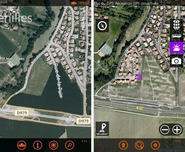 [INFO] Mise à jour des cartographies de l'application Cartes Novemb10