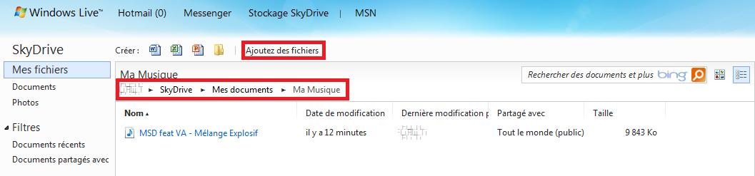 [ASTUCE MANGO] Utiliser les services de SkyDrive avec Mango Tuto3-10