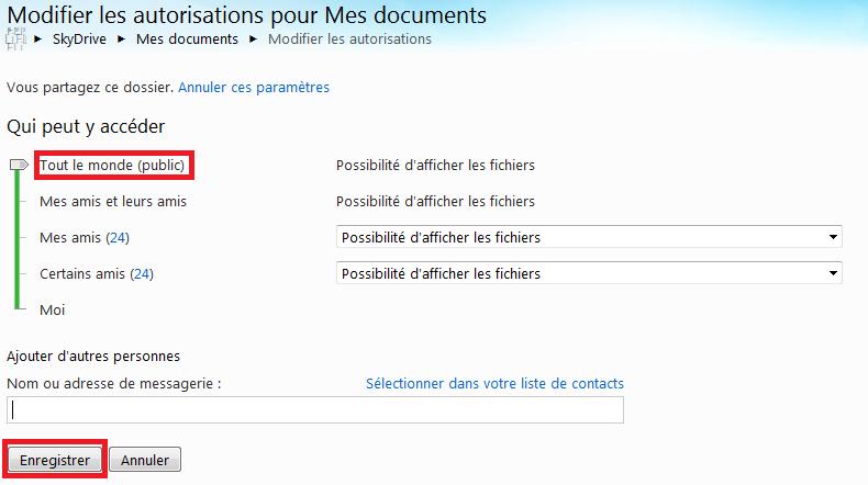 [ASTUCE MANGO] Utiliser les services de SkyDrive avec Mango Tuto6-10