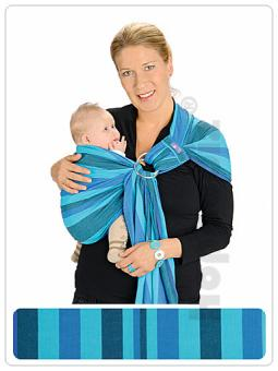 Vends Echarpe de portage sling HOPPEDIZ NEUVE R-slin10
