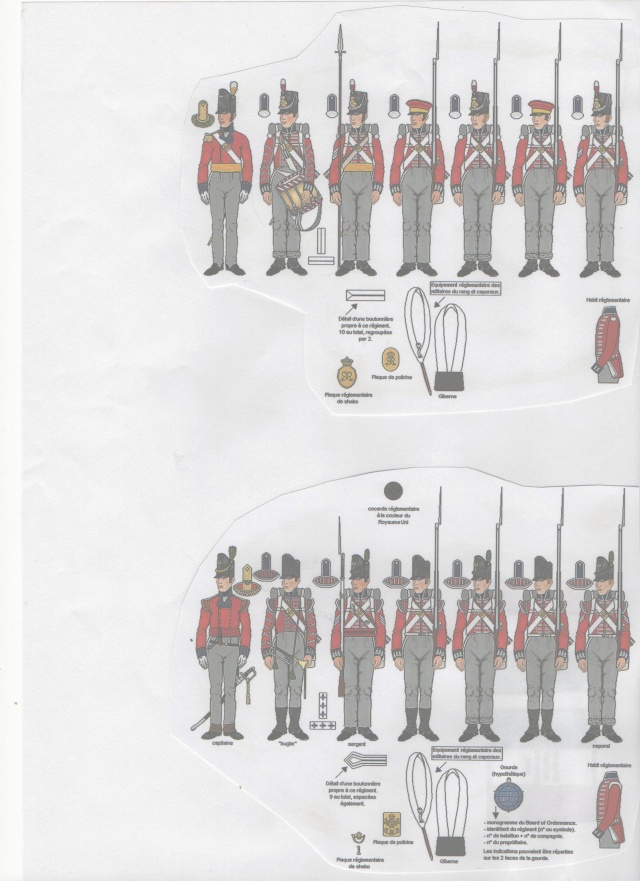 Carabiniers . Infanterie Anglaise . 1/72 001140