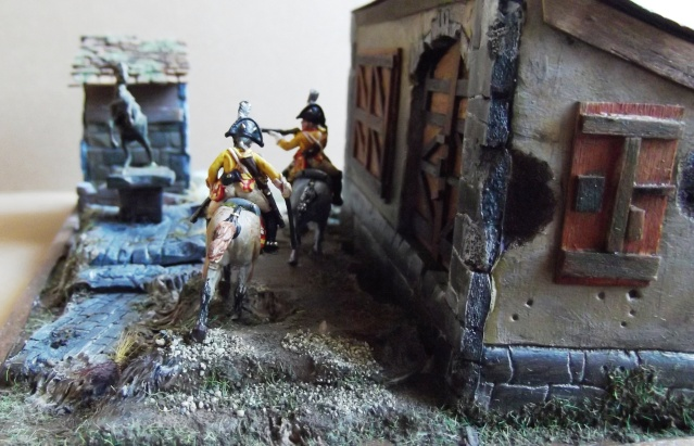 Cuirassiers Prussiens. Inf française du 25 ° léger.1/72 004139