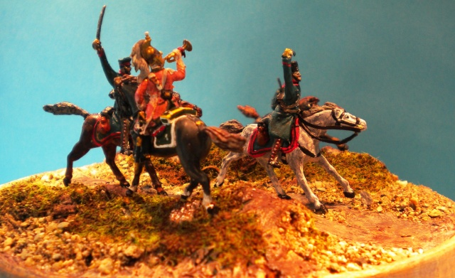 la charge : DRAGONS.CAVALERIE LEGERE PRUSSIENNE 00661