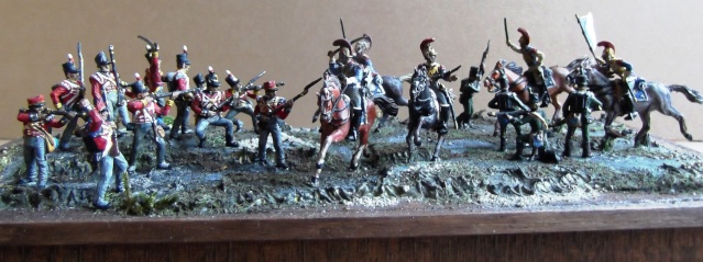 Carabiniers . Infanterie Anglaise . 1/72 007119