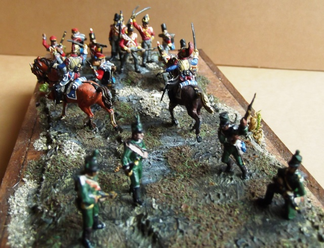 Carabiniers . Infanterie Anglaise . 1/72 01279