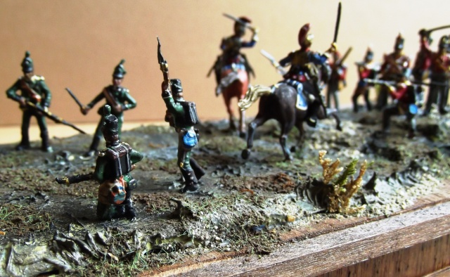 Carabiniers . Infanterie Anglaise . 1/72 01564