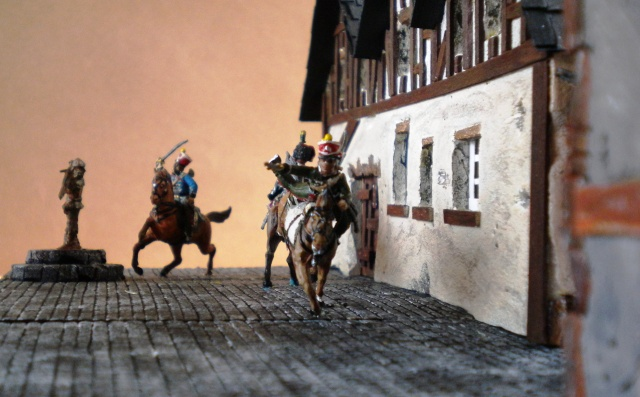 Gardes d'honneur à Reims au 1.72  01857