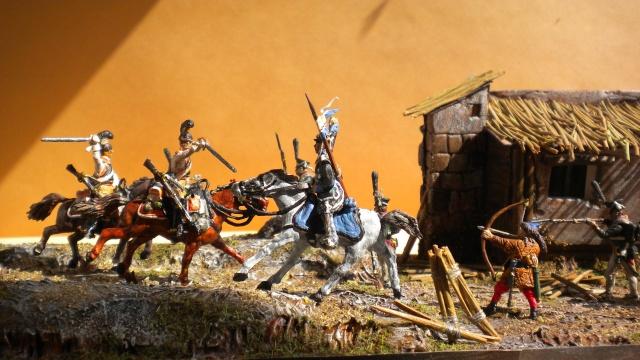 Borodino . Saxons  en cours ) au 1.72 01938