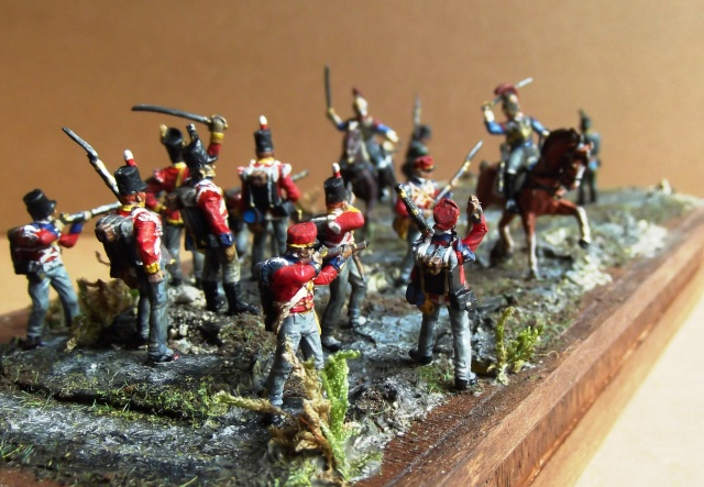 Carabiniers . Infanterie Anglaise . 1/72 01947
