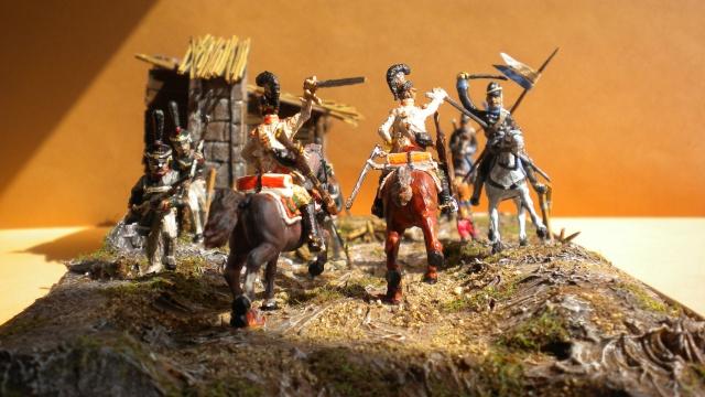 Borodino . Saxons  en cours ) au 1.72 02150