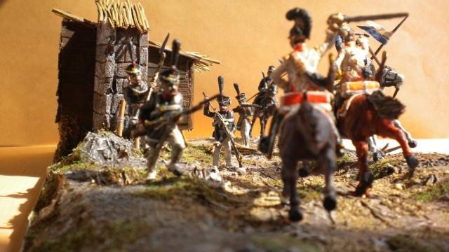 Borodino . Saxons  en cours ) au 1.72 02342