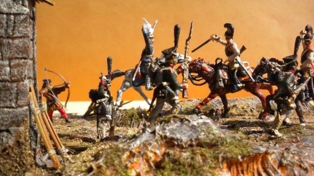 Borodino . Saxons  en cours ) au 1.72 02630