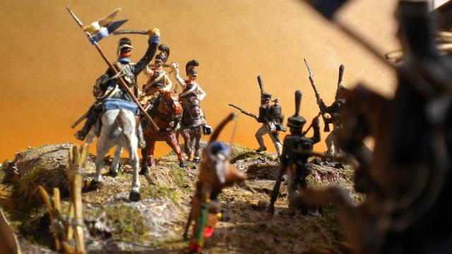 Borodino . Saxons  en cours ) au 1.72 02823