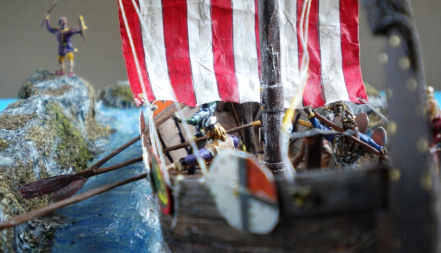 Saxons.Vikings.Drakkar en cours 03231