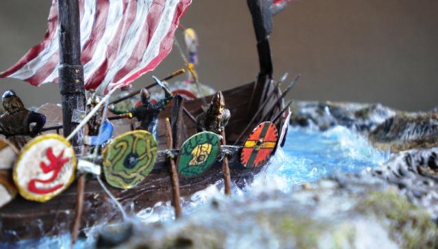 Saxons.Vikings.Drakkar en cours 03424