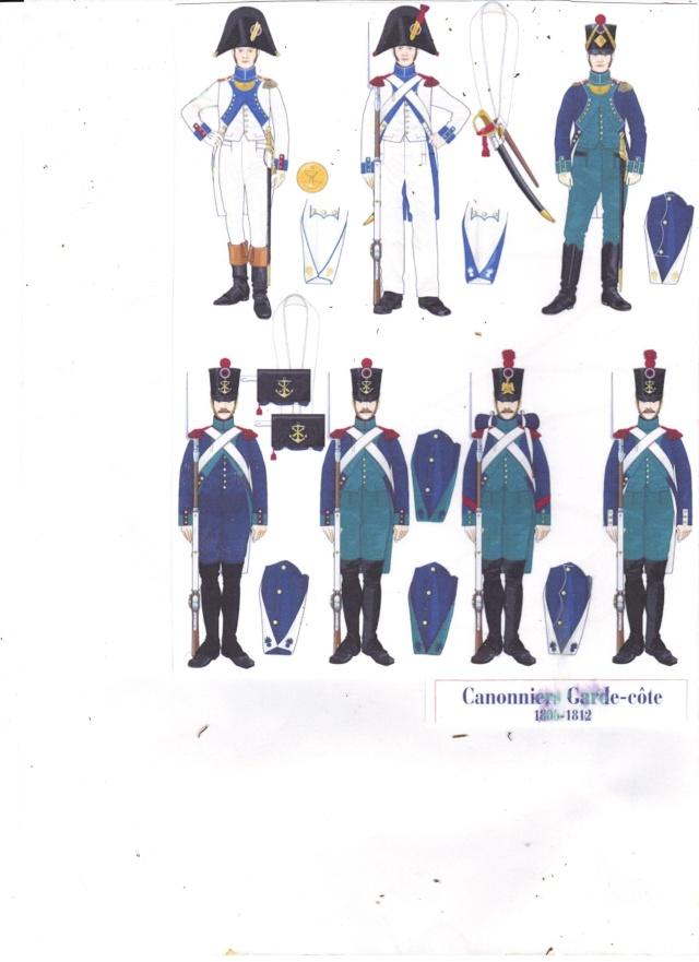 Canonniers , Garde Côte ( 1812 )  au 1.72 05111