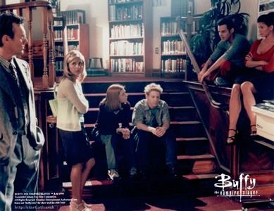 Les scènes de librairies et de bibliothèques au cinéma! Buffy10