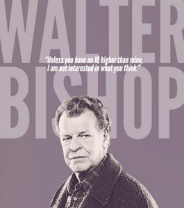 Walter Bishop de la série Fringe Walter10