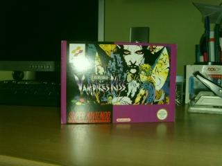 [A vendre] Castlevania Vampire Kiss Super Nintendo Snv32010