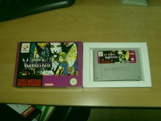 [A vendre] Castlevania Vampire Kiss Super Nintendo Snv32011