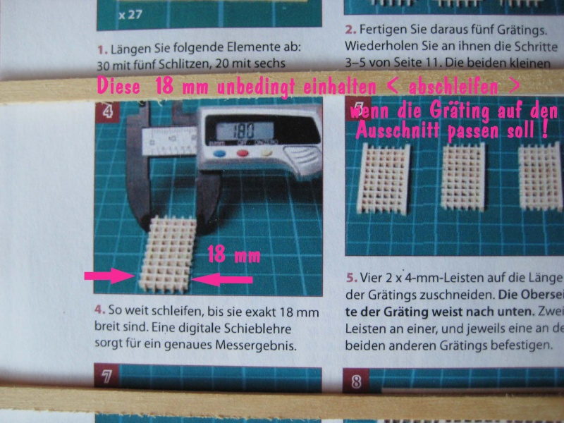 Huberts Baubericht Victory aus Holz - Seite 2 Gratin14