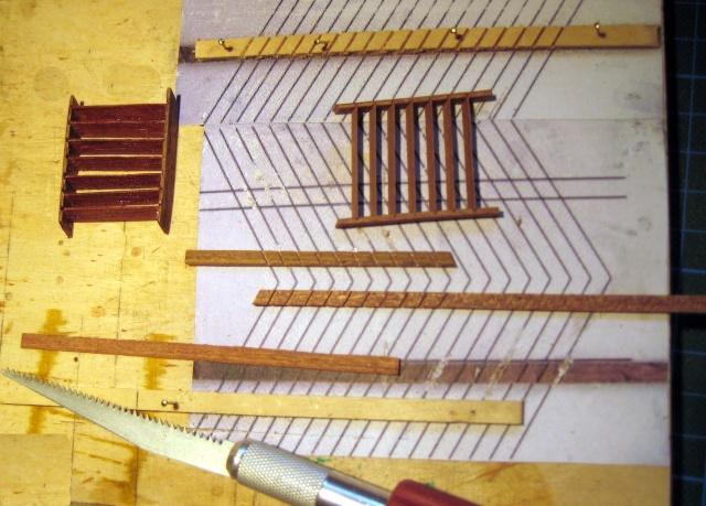 Huberts Baubericht Victory aus Holz - Seite 2 Treppe10