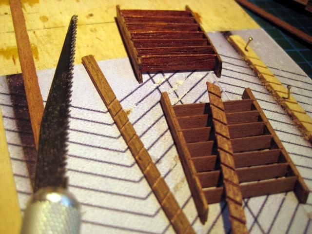 Huberts Baubericht Victory aus Holz - Seite 2 Treppe13