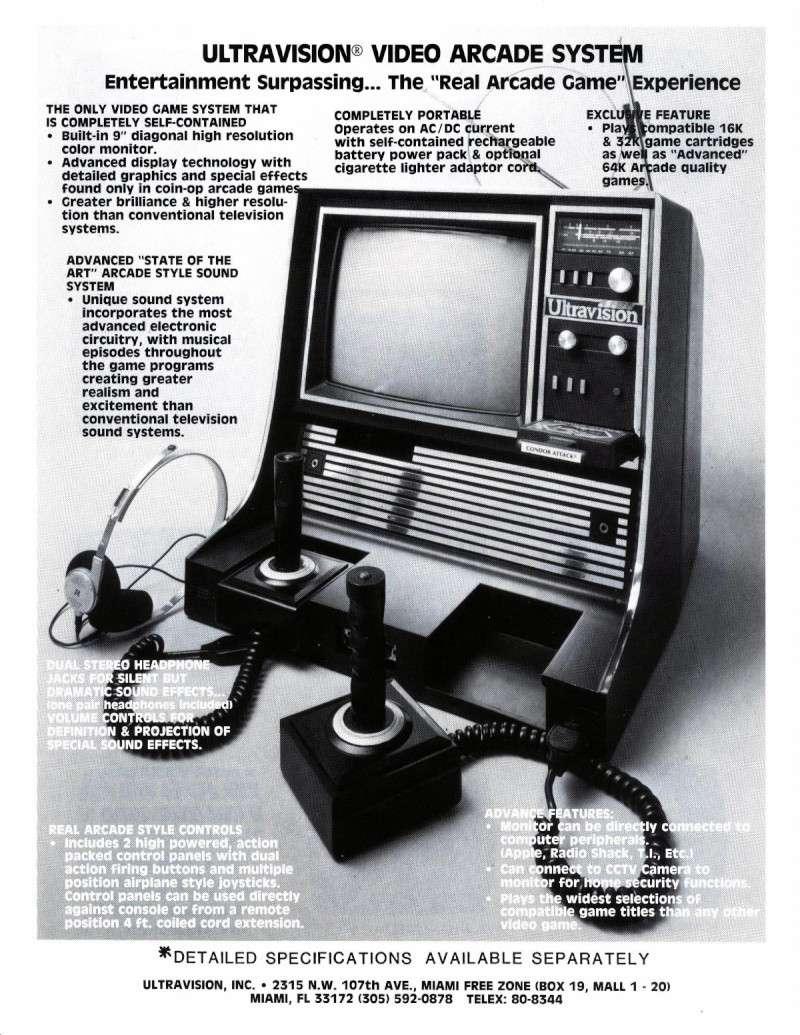 Les années 80 et les machines de fous  Ultrav10