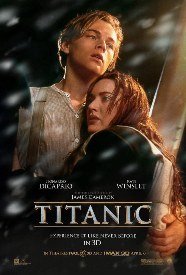 Avatar Affiches de Films Titani10