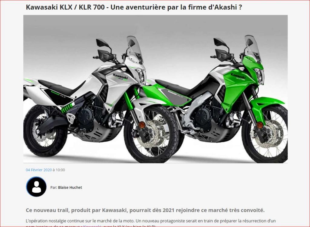 Klx / Klr700 Captur50