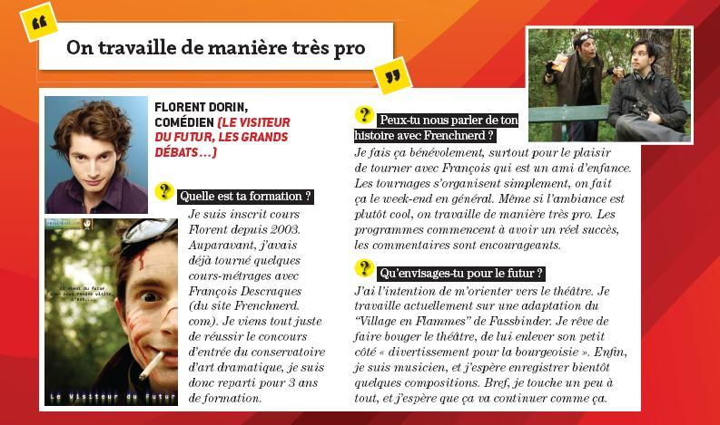 [Article] VDF & Interview Florent par Inside Web Floren13