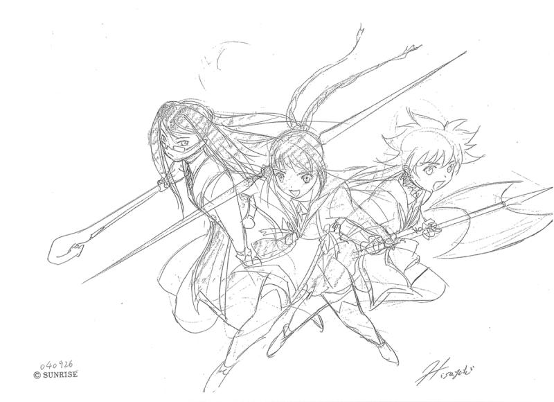 Sunrise's Official Artwork & Beta ShizMai 310