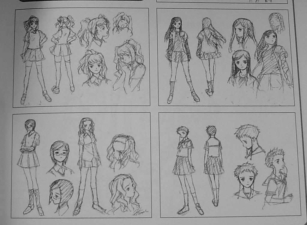 Sunrise's Official Artwork & Beta ShizMai Differ12