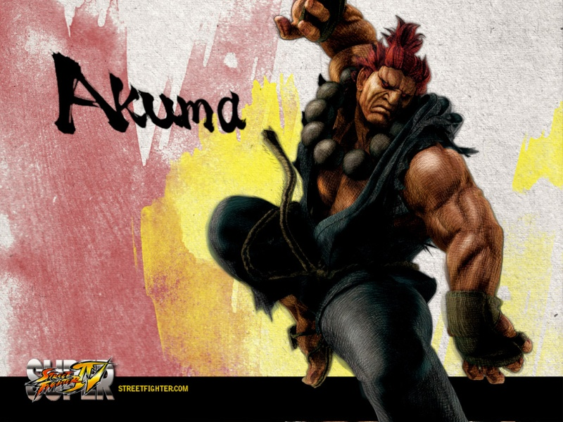 The Catalyst history with Street Fighter ! Akuma10