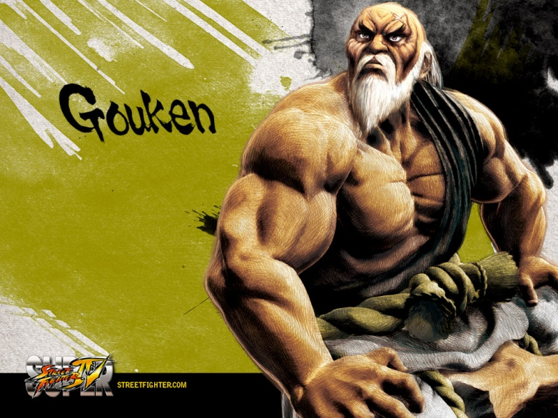 The Catalyst history with Street Fighter ! Gouken10