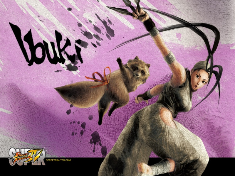 The Catalyst history with Street Fighter ! Ibuki10