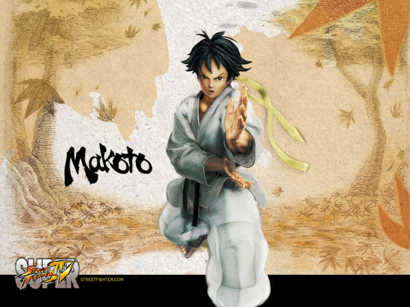 The Catalyst history with Street Fighter ! Makoto10