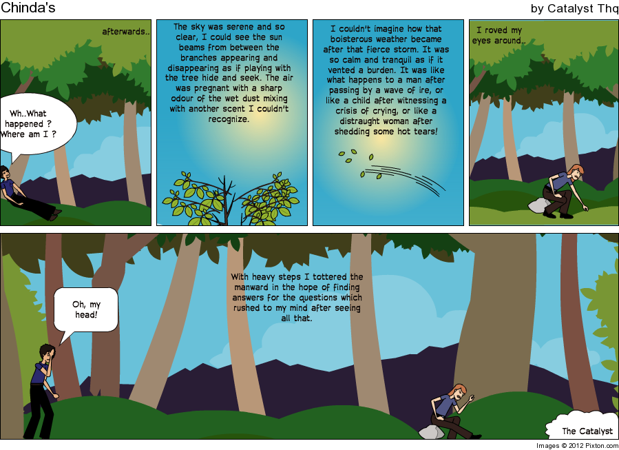 Make an in sync story, the comic work. Pixton14
