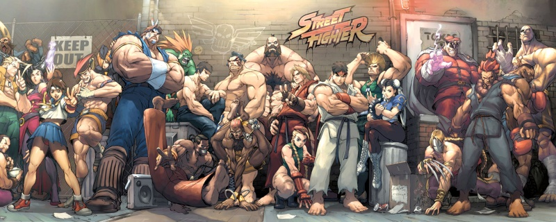 The Catalyst history with Street Fighter ! Street10