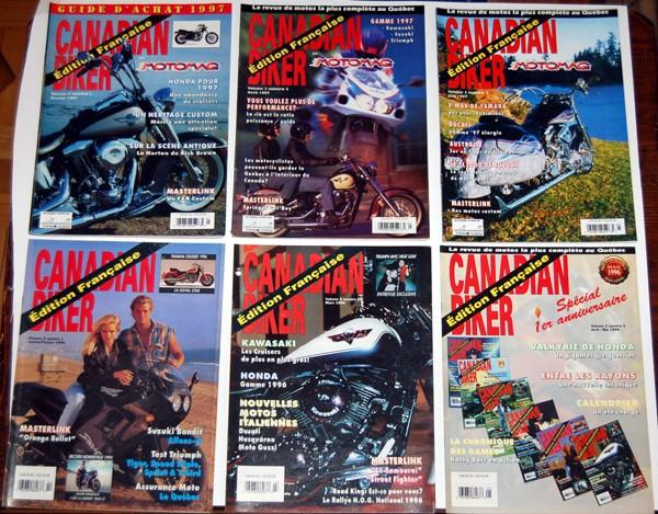 VENDU - magazine canadian biker , en français   1_00110