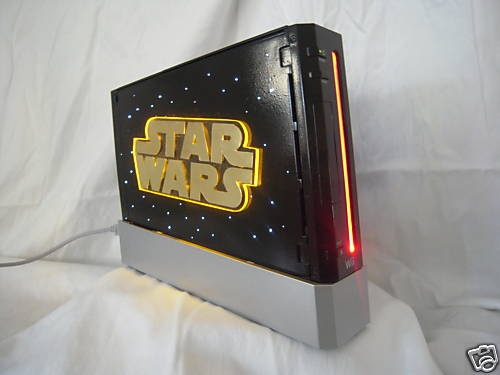 Darth Vader Nintendo Wii Sensor Bar Holder Wii-st10