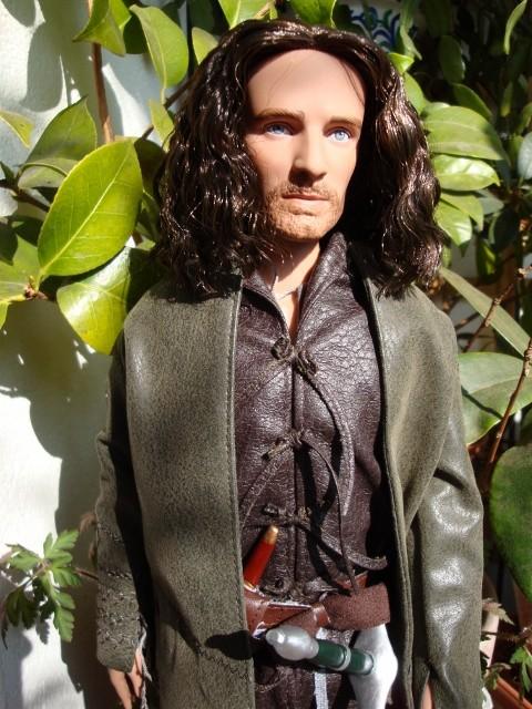 Lord of the rings : Arwen, Aragorn, Galadriel Dsc02312