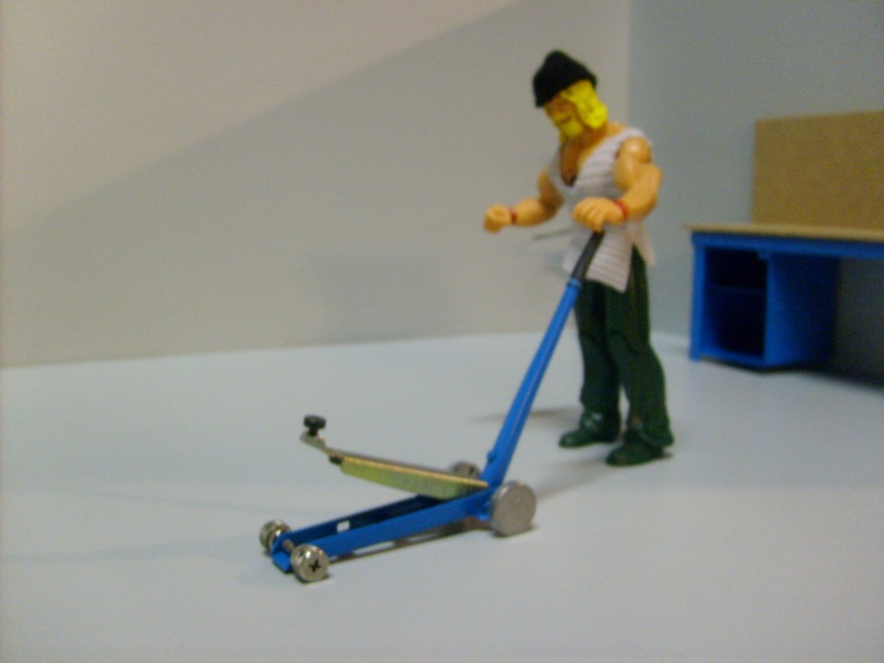 Le garage de scorpio . S6300283