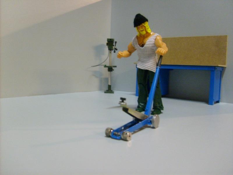 Le garage de scorpio . S6300284